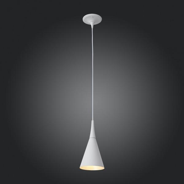 Светильник подвесной STURM Pitch, D140H1200 (1*40W E27 max), белый, STL-PIT012574