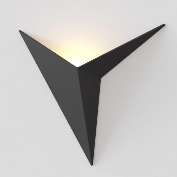 Светильник настенный STURM Virgo, светодиодный L245P75H205 (LED 1*3W 3000k 150lm), черный, STL-VIR022209