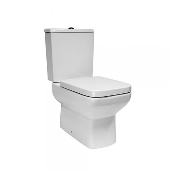 Унитаз-компакт STURM Plato с легкосъемным сиденьем с микролифтом, белый/хром SW-PL19084-CR