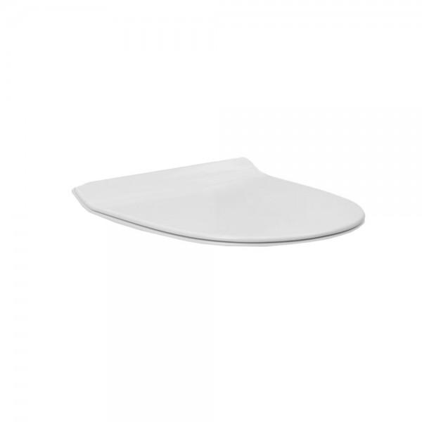 Сиденье для унитаза STURM Prime/Neu/Intro тонкое легкосъемное с микролифтом, белое/хром SW-ZN15053-CR