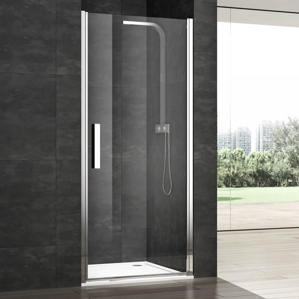 Душевая дверь в нишу STURM PDP-line Vera Right 75х200 см распашная, прозрачное стекло. Argento Lucido VRP1ID07430TR
