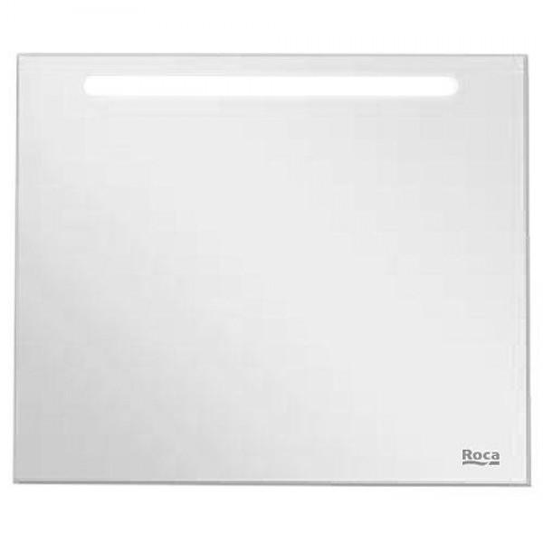 Зеркало Roca Laks, 100х85х1,6 см, антизапотевание, светодиодная подсветка, ZRU9302809