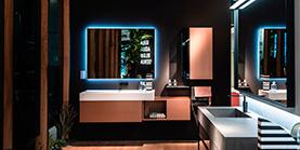 Комплектация объектов мебелью для ванной