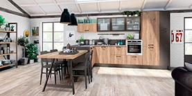 Комплектация объектов кухонной мебелью
